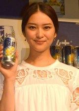 出演したCM内で本気チュー顔を何度も撮影したことを明かした武井咲 (C)ORICON NewS inc.