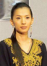 NHKスペシャルドラマ『償い THE UNFORGIVEN』の完成試写会に出席した芦名星