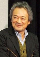 NHKスペシャルドラマ『償い THE UNFORGIVEN』の完成試写会に出席した源孝志監督