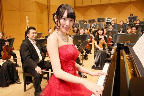 AKB48の松井咲子が読売日本交響楽団とコラボレーション (C)日本テレビ