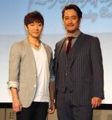 (左から)ソン・ヨンジン、橋本さとし (C)ORICON NewS inc.