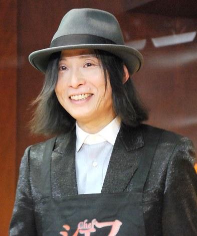映画『シェフ 三つ星フードトラック始めました』トークイベントに出席した辻仁成 (C)ORICON NewS inc.