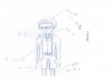 水谷豊本人がキャラクターをイメージして描いたイラスト