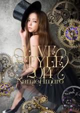 安室奈美恵のライブDVD/Blu-ray Disc『namie amuro LIVE STYLE 2014』が両ランキング初登場1位