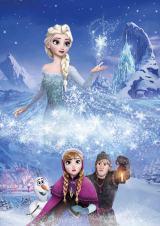 「アニメ オブ ザ イヤー」映画部門にノミネートされた『アナと雪の女王』(C)2015 Disney