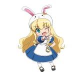 4月スタートのテレビアニメ『えとたま』ウサたん(CV:相坂優歌)(C)えとたま製作委員会