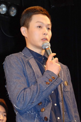 ミュージカル『GARANTIDO(ガランチード)』製作発表会見に出席した荒木宏文 (C)ORICON NewS inc.