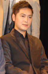 ミュージカル『GARANTIDO(ガランチード)』製作発表会見に出席した加治将樹 (C)ORICON NewS inc.