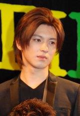 ミュージカル『GARANTIDO(ガランチード)』製作発表会見に出席した荒井敦史 (C)ORICON NewS inc.