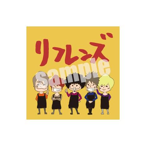 先着特典の缶バッチデザイン(タワーレコード版)