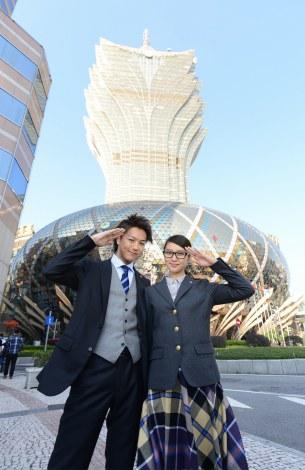 『戦力外捜査官』SP版では初の海外ロケとなるマカオが舞台(C)日本テレビ