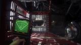 PlayStation 4/Xbox One用ソフト『ALIEN:ISOLATION -エイリアン アイソレーション-』では、動体探知機が生き抜く上でキーとなるアイテム。動く物体を感知し場所を示してくれる。目前に何かいるようだが…
