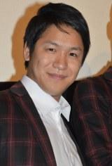 映画『ピラメキ子役ものがたり〜子役に憧れるすべての親子のために〜』公開初日舞台あいさつに出席したはんにゃ川島章良 (C)ORICON NewS inc.
