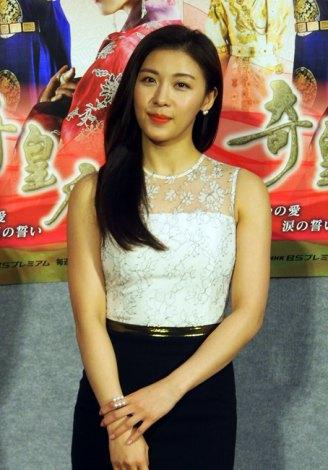 NHK・BSプレミアムで放送中の韓国ドラマ『奇皇后-ふたつの愛 涙の誓い-』に主演するハ・ジウォン (C)ORICON NewS inc.