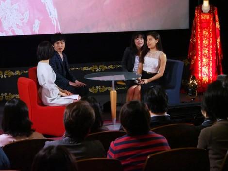 NHK・BSプレミアムで放送中の韓国ドラマ『奇皇后-ふたつの愛 涙の誓い-』に主演するハ・ジウォン(右) (C)ORICON NewS inc.