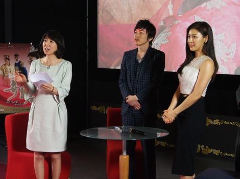 NHK・BSプレミアムで放送中の韓国ドラマ『奇皇后-ふたつの愛 涙の誓い-』ファンミーティングの模様(C)ORICON NewS inc.