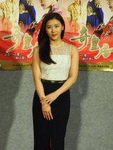 NHK・BSプレミアムで放送中の韓国ドラマ『奇皇后−ふたつの愛 涙の誓い−』に主演するハ・ジウォン (C)ORICON NewS inc.
