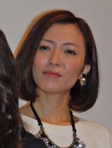 自画自賛し笑わせた元宝塚歌劇団の女優・安蘭けい (C)ORICON NewS inc.