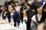 明治座『HKT48 指原莉乃座長公演』発表時のメンバーの様子 (C)AKS