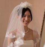 映画『振り子』よりウエディングドレス姿で微笑むSKE48の松井珠理奈
