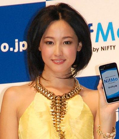 今後の目標を語った沢尻エリカ=『NifMo』TVCM発表会 (C)ORICON NewS inc.