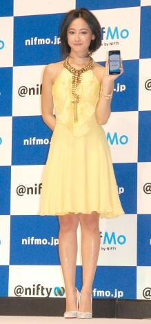 『NifMo』TVCM発表会「THIS IS NifMo!! 次世代ローコストスマホ本格始動! (C)ORICON NewS inc.
