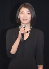 映画『ソロモンの偽証』完成披露試写会に出席した田畑智子 (C)ORICON NewS inc.