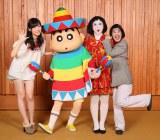 しんちゃんとゲスト声優出演する指原莉乃、日本エレキテル連合