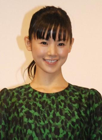 映画『振り子』の東京凱旋試写会後の舞台あいさつに出席した小西真奈美 (C)ORICON NewS inc.