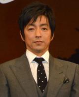 映画『風に立つライオン』完成披露試写会舞台あいさつに出席した大沢たかお (C)ORICON NewS inc.