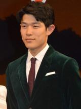 映画『風に立つライオン』完成披露試写会舞台あいさつに出席した鈴木亮平 (C)ORICON NewS inc.