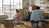 彼氏役の坂口健太郎と共演した大島優子(第一三共『ミノン』洗浄シリーズより)