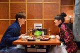 ドラマ『女くどき飯』第7話(MBS:3月8日、TBS:3月10日)は高級約肉&絶品スイーツ(C)峰なゆか/ドラマ「女くどき飯」製作委員会・MBS