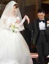 1990年9月の入籍以来、結婚式をおこなった(左から)太田光代、爆笑問題・太田光 (C)ORICON NewS inc.