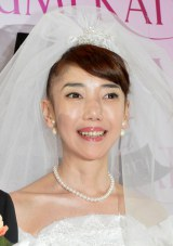 桂由美50周年記念コレクション『YUMI KATSURA 50th SHINING FOREVER』に出席した太田光代 (C)ORICON NewS inc.