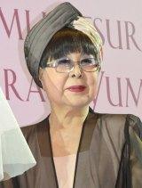 桂由美50周年記念コレクション『YUMI KATSURA 50th SHINING FOREVER』を主催した桂由美氏 (C)ORICON NewS inc.