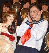 映画『アナベル 死霊館の人形』女子高生限定試写会に出席した椿鬼奴 (C)ORICON NewS inc.