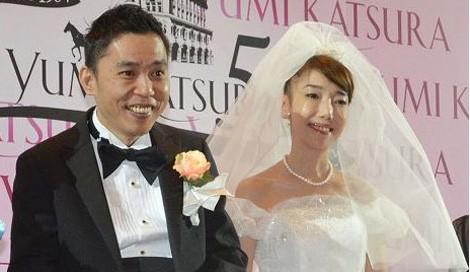 サムネイル 結婚25年目で初挙式 (左から)爆笑問題・太田光、太田光代社長 (C)ORICON NewS inc.