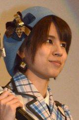 ドキュメンタリー映画『アイドルの涙 DOCUMENTARY of SKE48』公開前夜祭に出席した中西優香 (C)ORICON NewS inc.