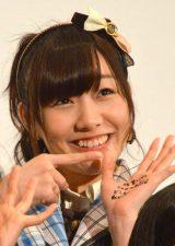 ドキュメンタリー映画『アイドルの涙 DOCUMENTARY of SKE48』公開前夜祭に出席した須田亜香里 (C)ORICON NewS inc.