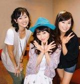 """(左から)7月に3人そろってのライブを行う中村由真、浅香唯、大西結花の""""風間三姉妹"""""""