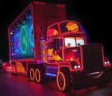 全LEDパレードの「ペイント・ザ・ナイト・パレード」  As to Disney photos,logos,properties:(C)Disney
