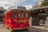 カリフォルニア ディズニーランド・リゾート「ディズニーランド・パーク」のレッドカー・トロリー As to Disney photos,logos,properties:(C)Disney
