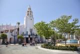 カリフォルニア ディズニーランド・リゾート「ディズニーランド・パーク」カーセイ・サークル・シアター As to Disney photos,logos,properties:(C)Disney