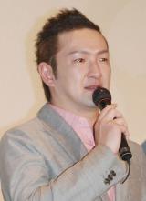 映画『振り子』初日舞台あいさつに出席した中村獅童 (C)ORICON NewS inc.
