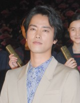 映画『くちびるに歌を』初日舞台あいさつに出席した桐谷健太 (C)ORICON NewS inc.