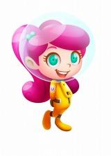 『モジポップン〜100の海と情熱の大陸〜』のプレイヤーキャラクター「カナン」(C) GungHo Online Entertainment, Inc. All Rights Reserved.
