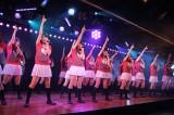 最初で最後のAKB48劇場公演を行ったバイトAKBのメンバー(C)De-View