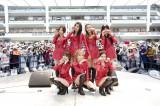 日本での2ndシングル「Like a Cat」の発売記念イベントを行ったAOA