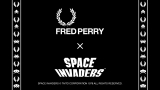 『FRED PERRY』と『スペースインベーダー』によるコラボ商品発売(C)TAITO CORPORATION 1978 ALL RIGHTS RESERVED.